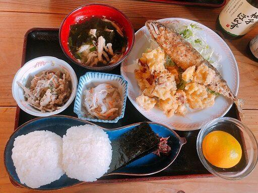 棚田のおにぎり定食