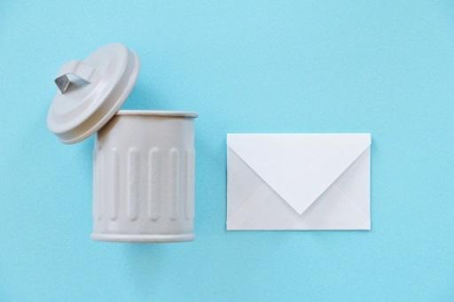 メールとゴミ箱