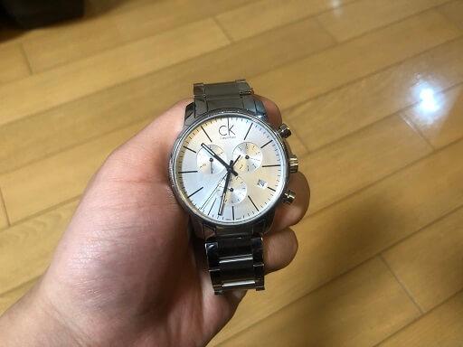 カルバンクラインの腕時計