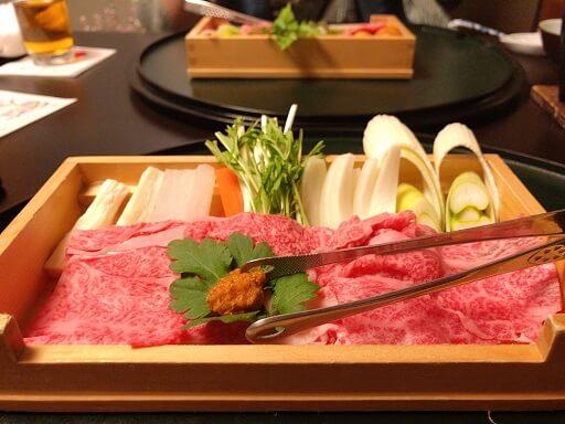 川上屋花水亭夕食