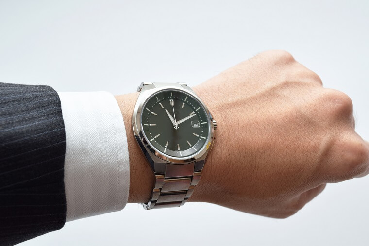新入社員の腕時計