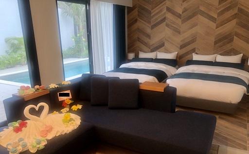 ザ・ヴィラ前浜ビーチの寝室