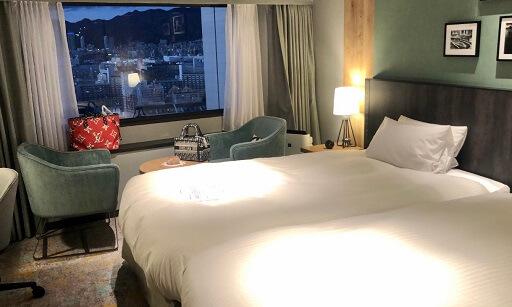 神戸ポートピアホテルの部屋