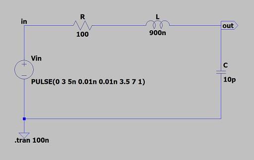 RLC直列回路のシミュレーション2