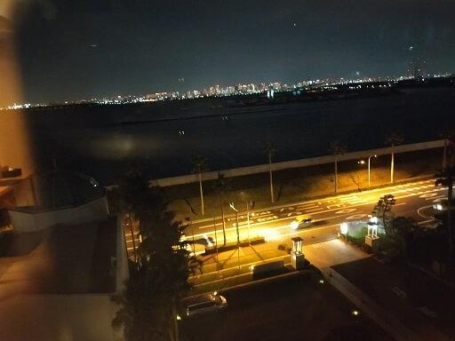 東京ベイ舞浜ホテルの部屋からの景色