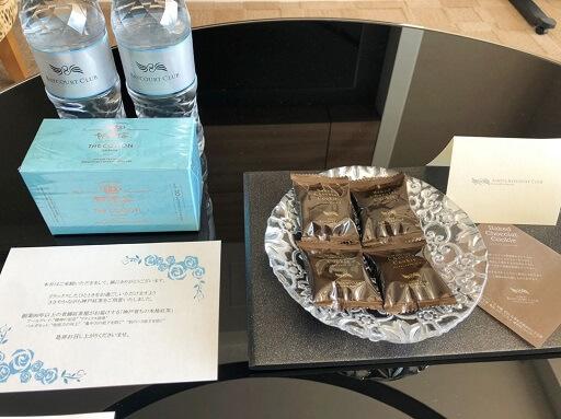 芦屋ベイコートの紅茶とお菓子