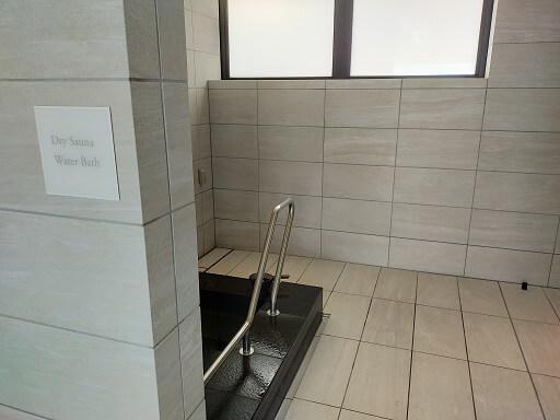 芦屋ベイコートスパの水風呂