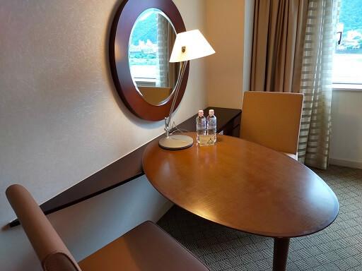 都ホテル岐阜長良川のデスク